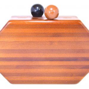 bolso festa madera hexagonal 1